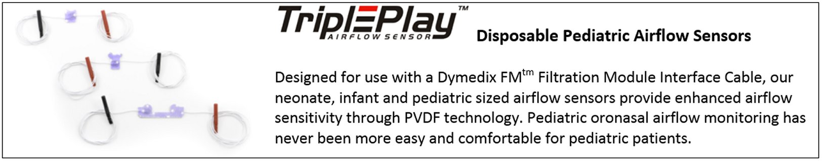 Disposable Pediatric Airflow Sensors